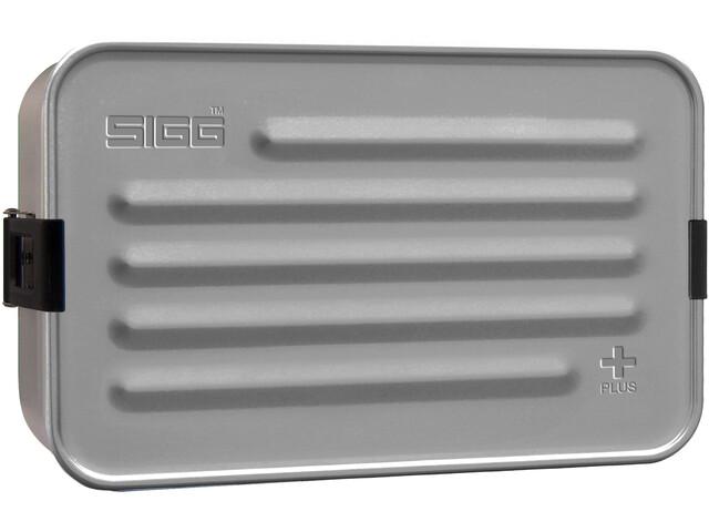 Sigg Plus Caja de metal L, Plateado
